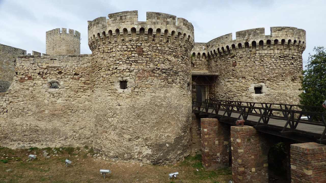 belgrade serbia fortress free photo