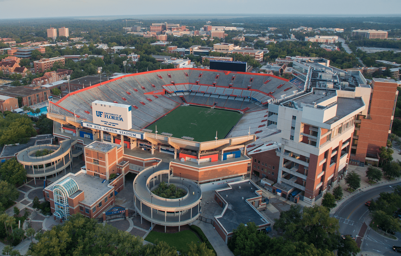 ben hill griffin stadium gainesville free photo