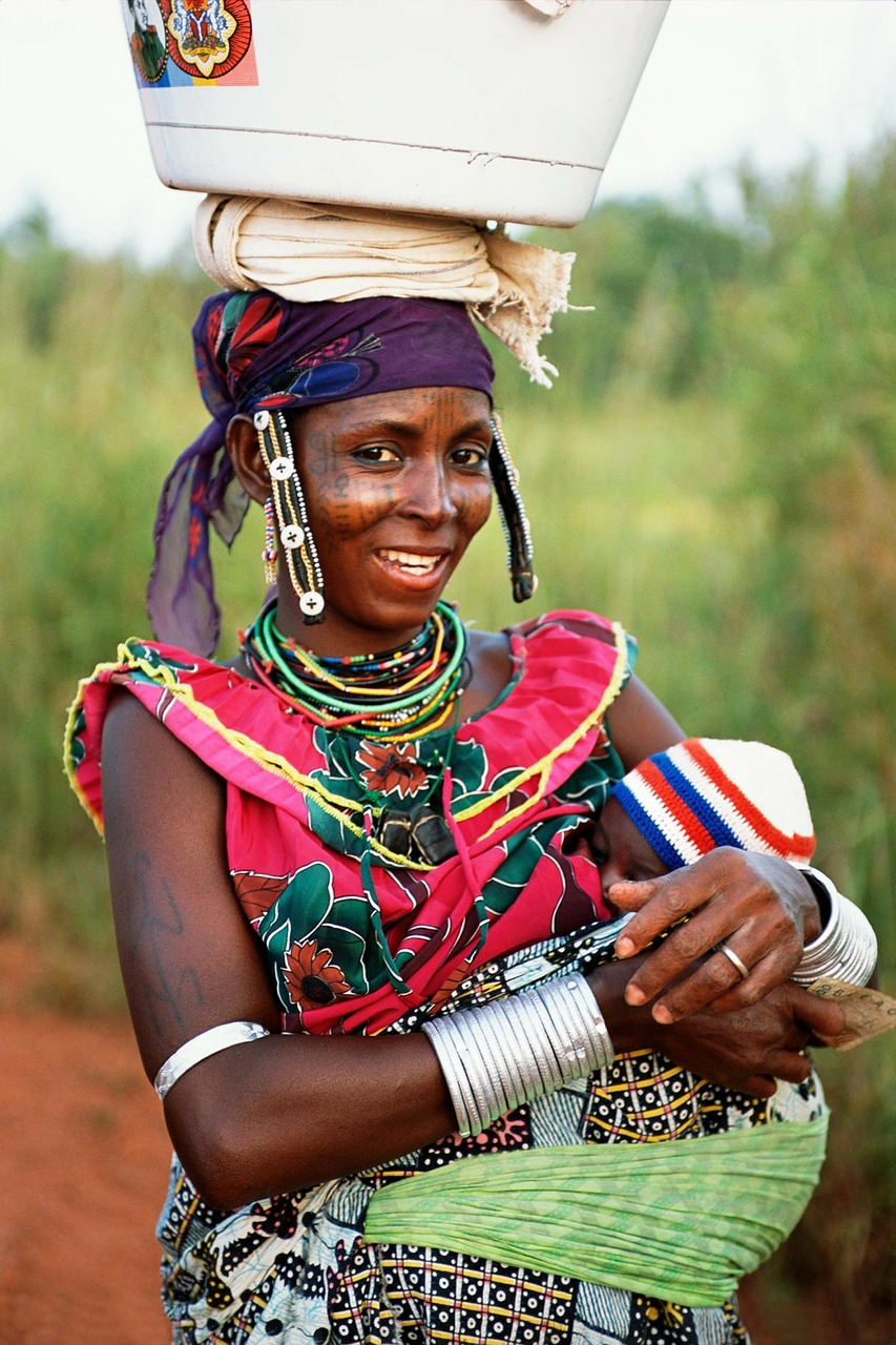 benin woman baby free photo