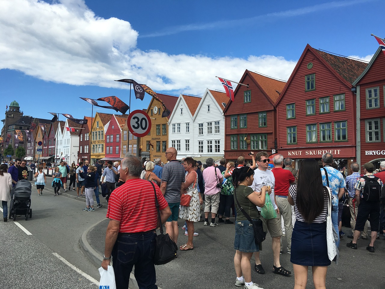 bergen market fish free photo