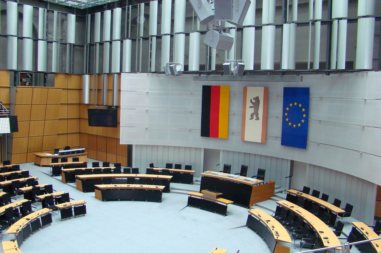 berlin bundestag chamber free photo