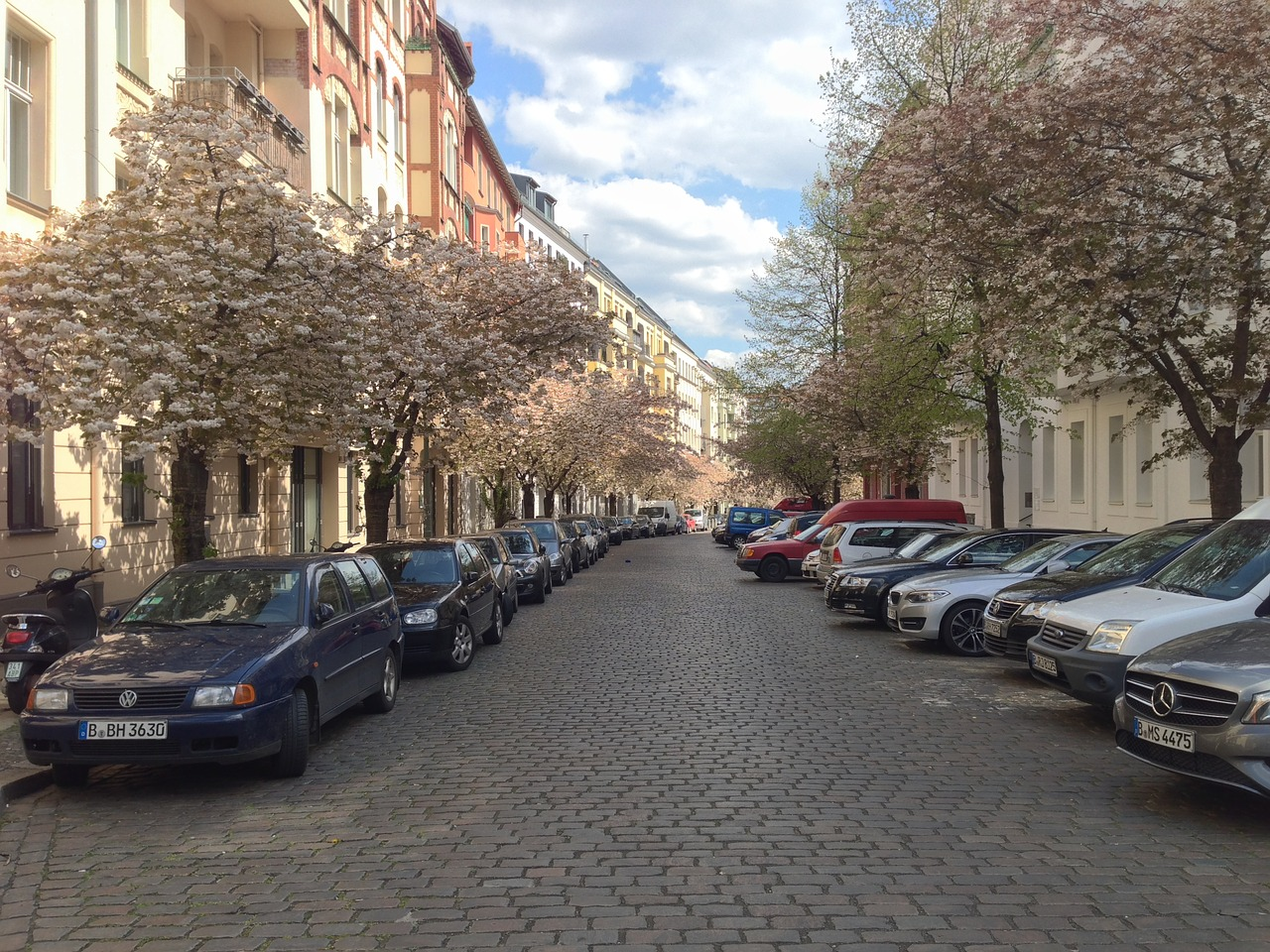 berlin spring sightseeing free photo