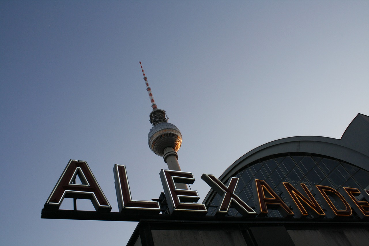 berlin alexanderplatz germany free photo