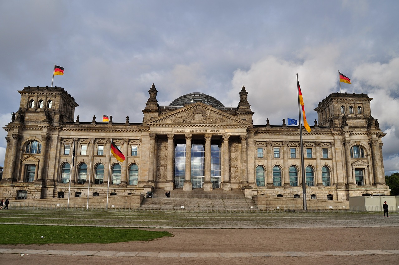 berlin the bundestag monument free photo