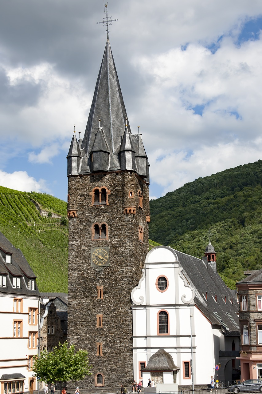 bernkastel kues church historically free photo