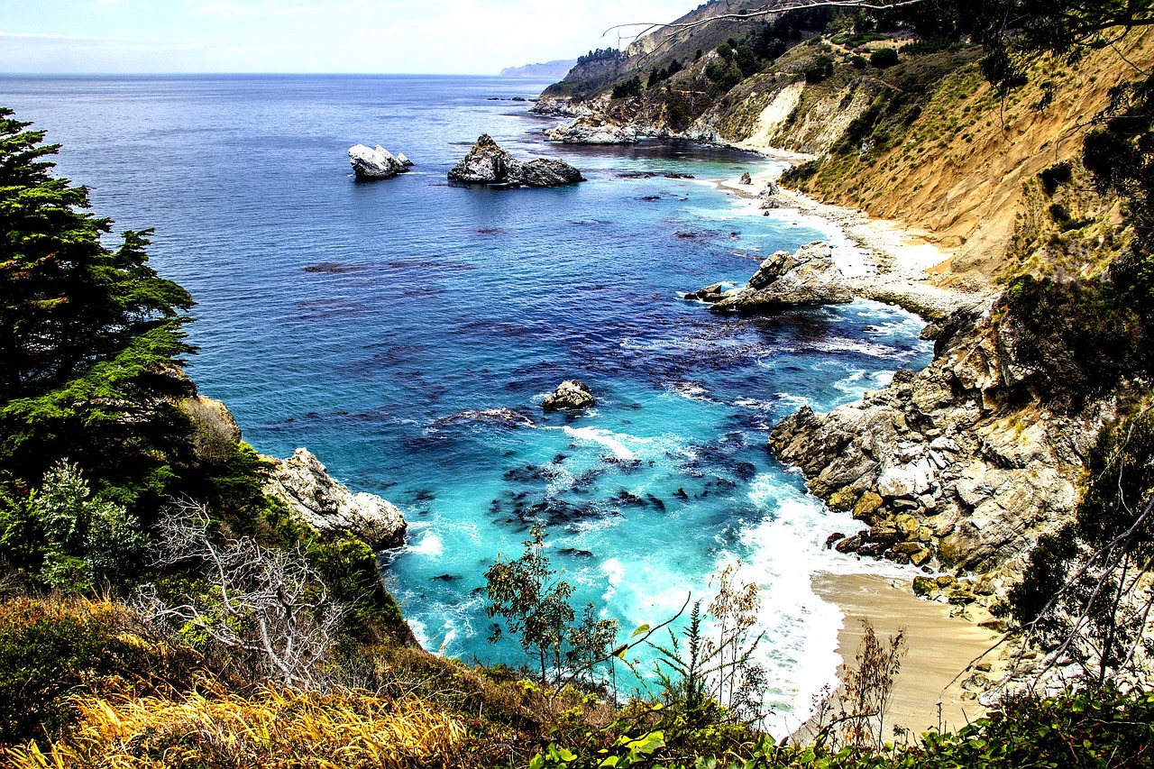 Big Sur California places to visit in USA