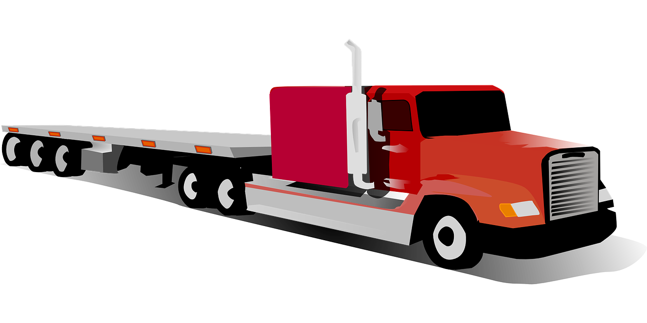 big truck,eighteen wheeler,tractor and trailer,18 wheeler,big rig,semi-trailer,trucking,shippping,cargo truck,semi-truck,free vector graphics,free pictures, free photos, free images, royalty free, free illustrations, public domain