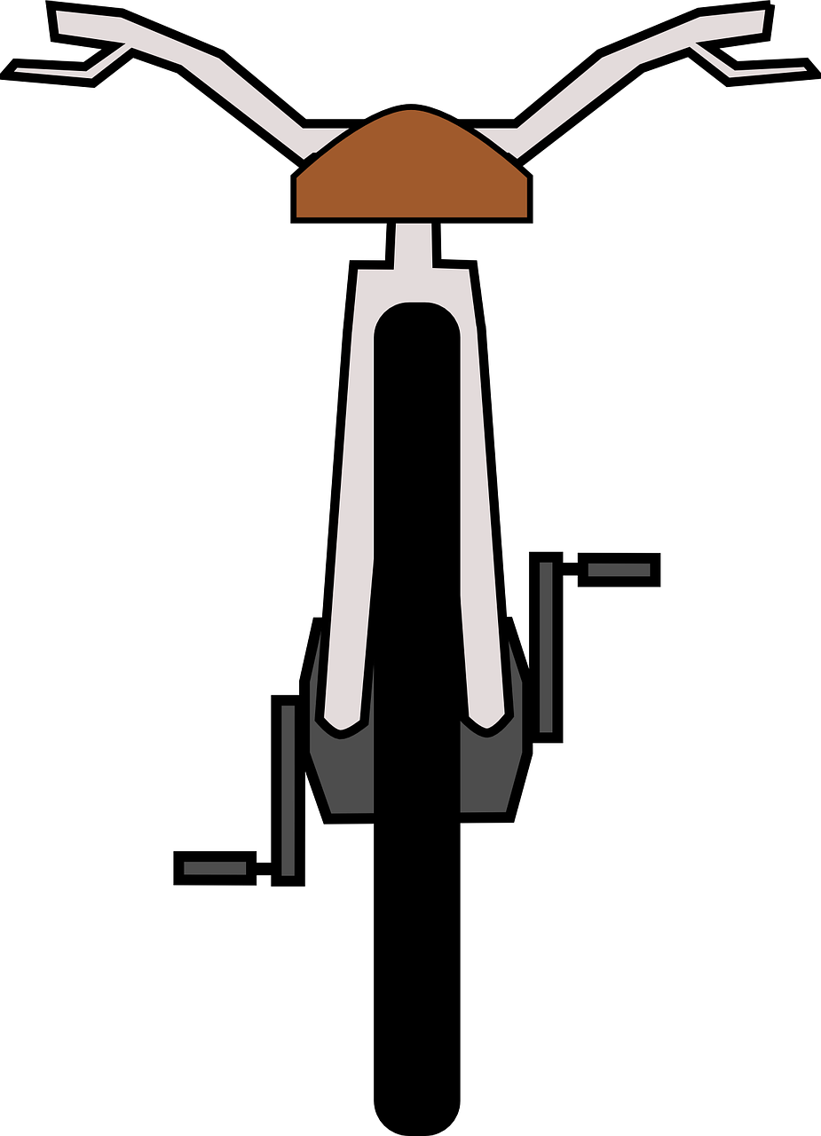 bike,wheel,pedals,saddle,handlebars,back,drawing,free vector graphics,free pictures, free photos, free images, royalty free, free illustrations, public domain