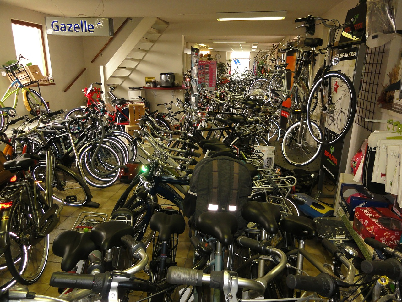 Download free photo of Bikes,bicycles,bicycle,bike,store - from needpix.com
