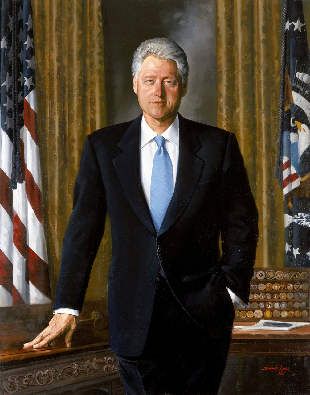 bill clinton president usa free photo