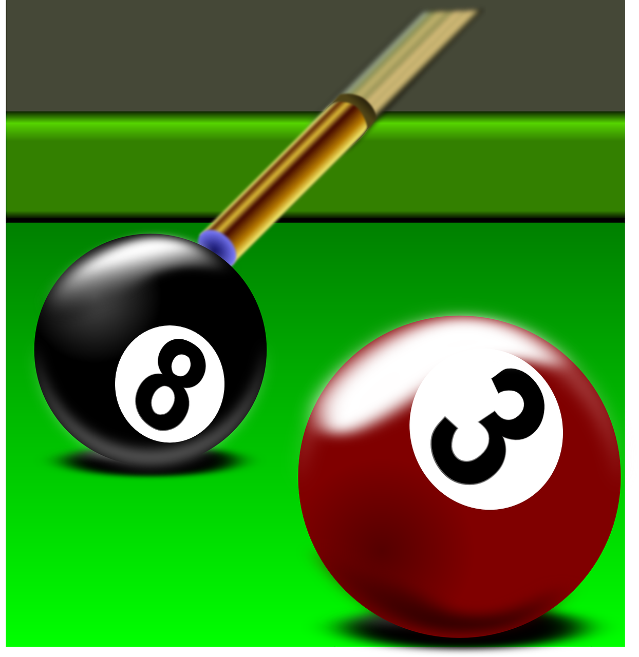 billiard pool rack free photo