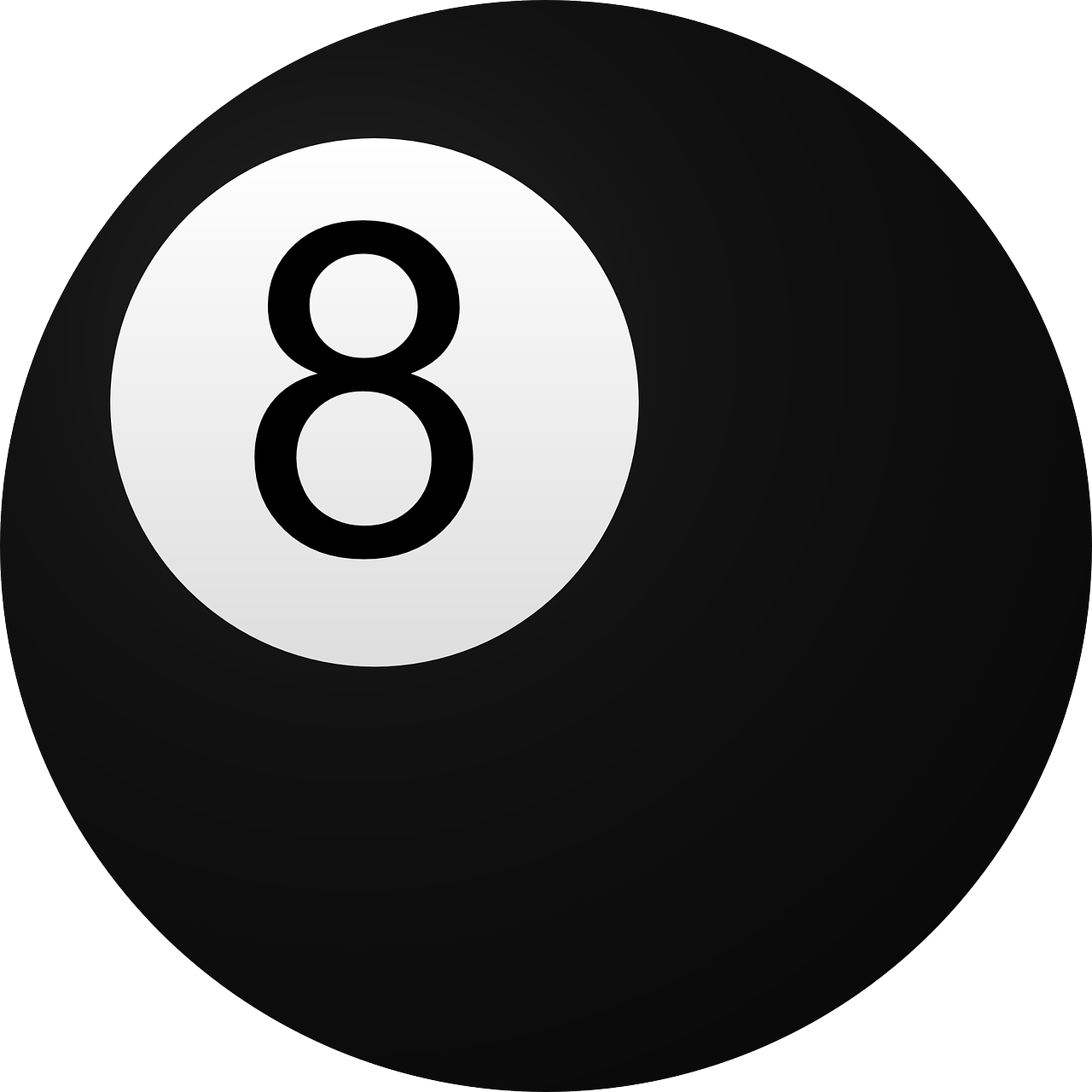 billiard ball,8,billiard,ball,black,circle,eight,pool,table,free vector graphics,free pictures, free photos, free images, royalty free, free illustrations