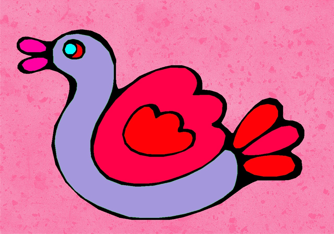 Download Free Photo Of Bird Drawing Kids Colorful Design From Needpix Com