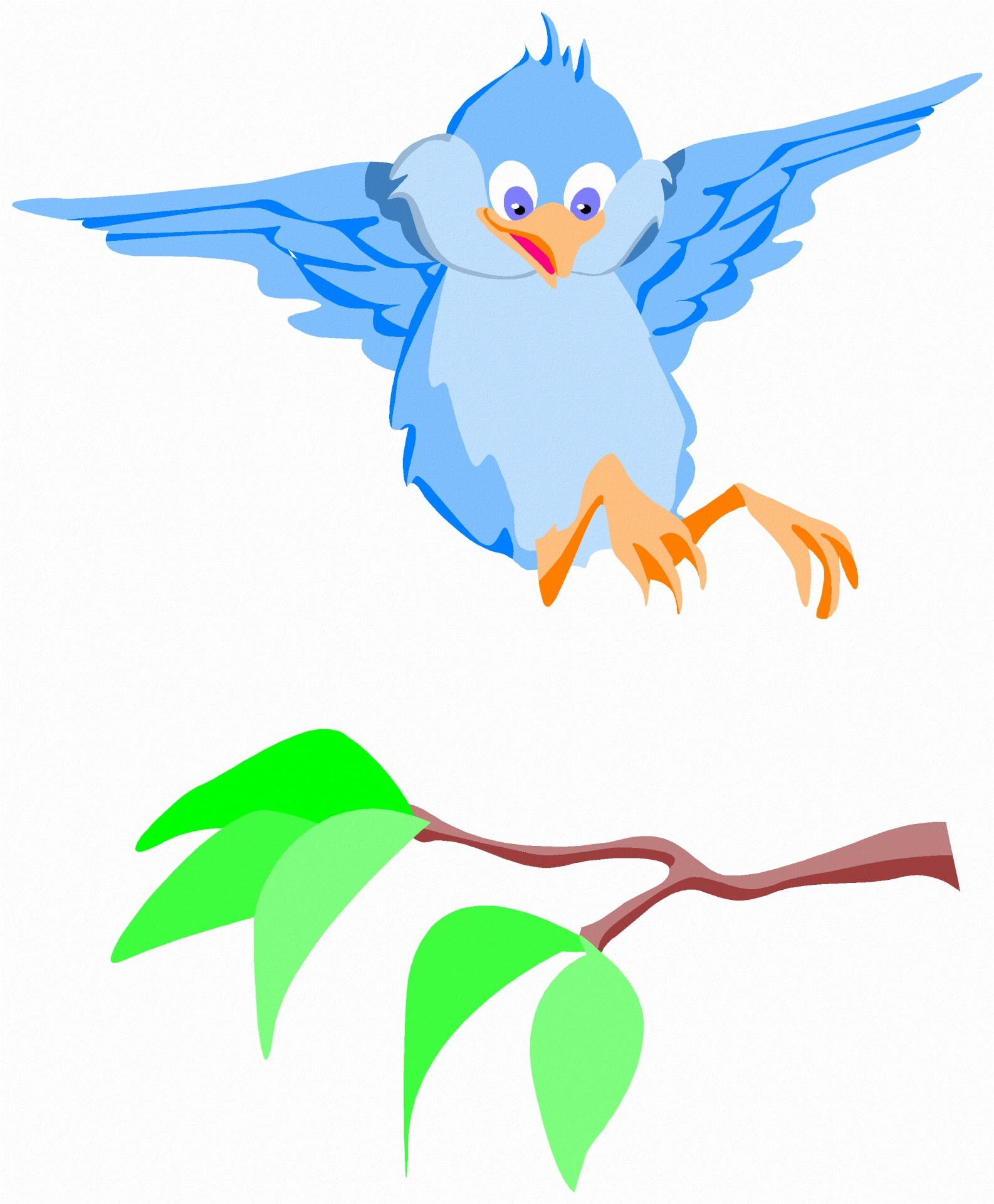 Birdnatureillustrationdrawingexpression Free Photo