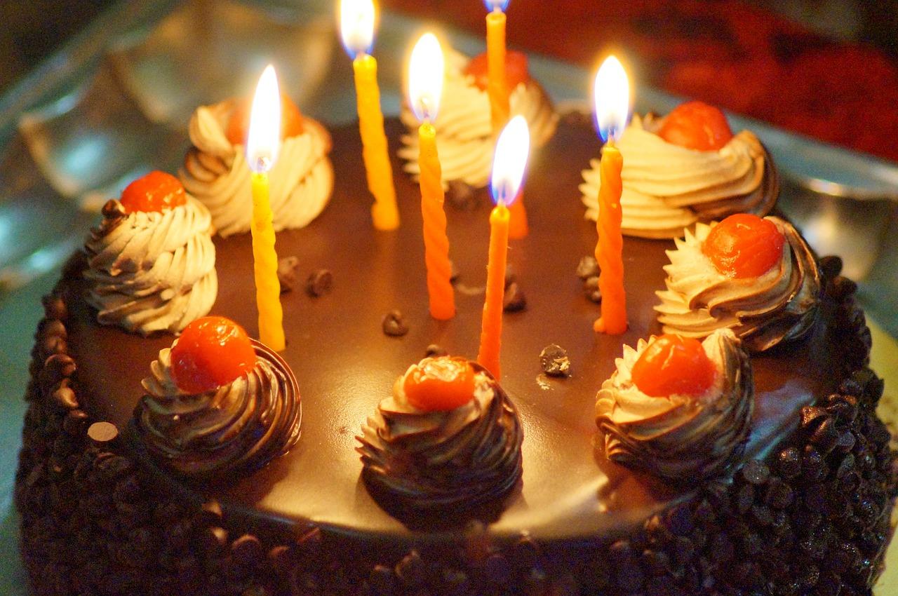 Birthday Cake Candles Celebration Celebrate Free Image From Needpix Com