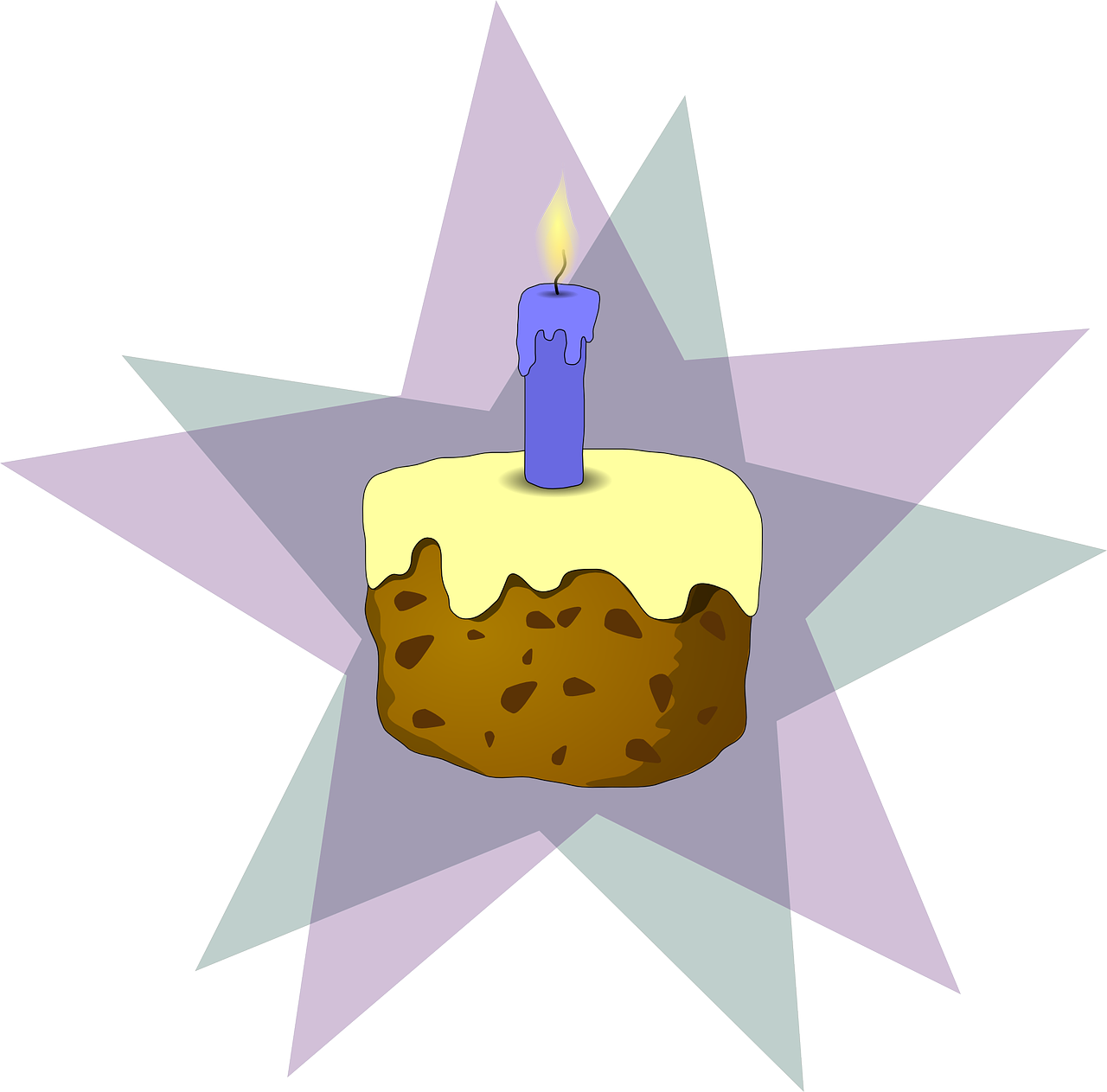 birthday cake cake candle free photo