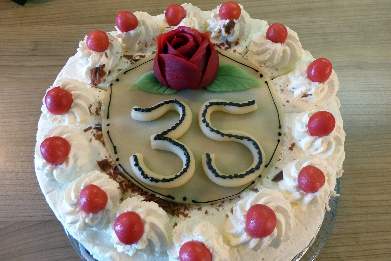 birthday cake cake sweetness free photo