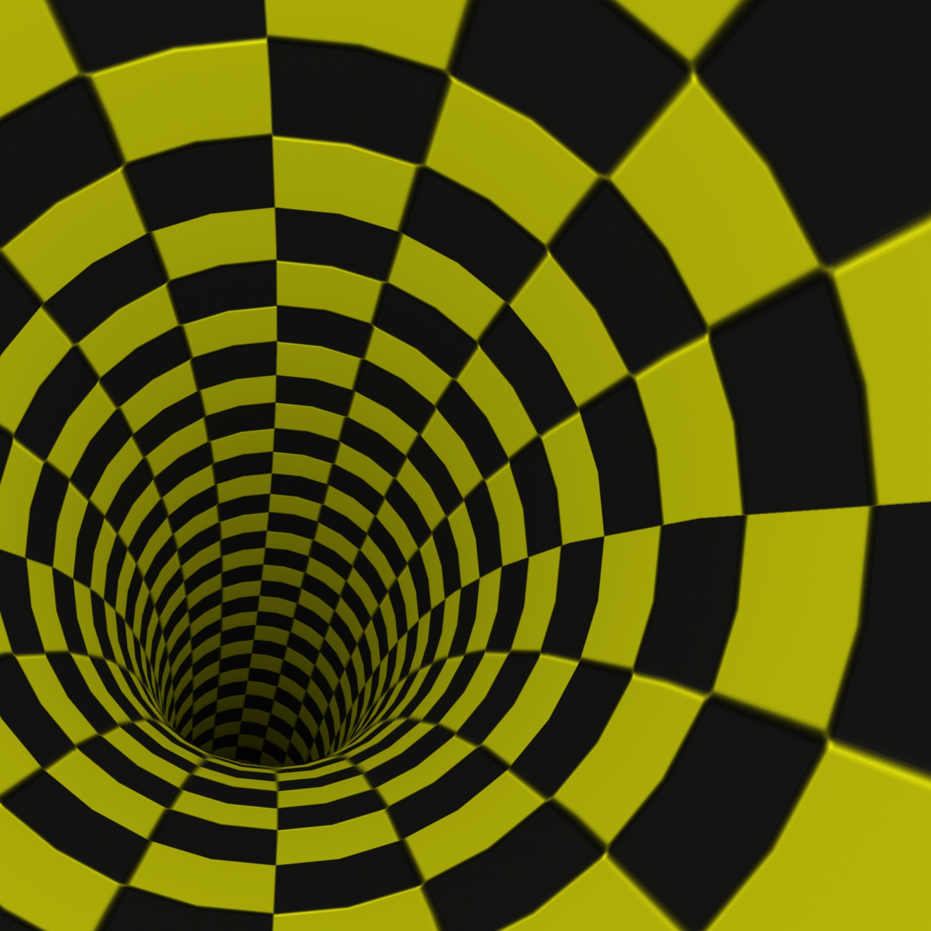 Wallpaper Black Yellow Checkerboard Tunnel Free Image From Needpix Com
