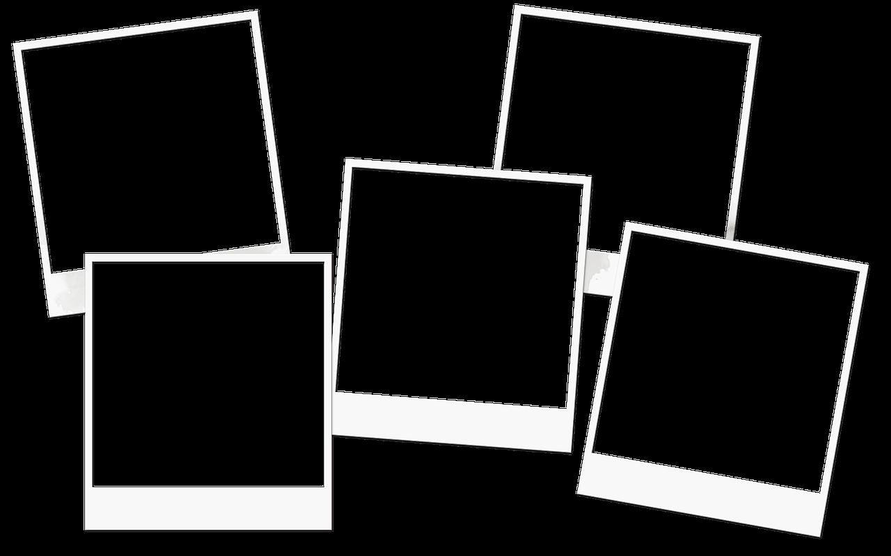 Blank Photo Frames Transparent Background Blank Frames Alpha