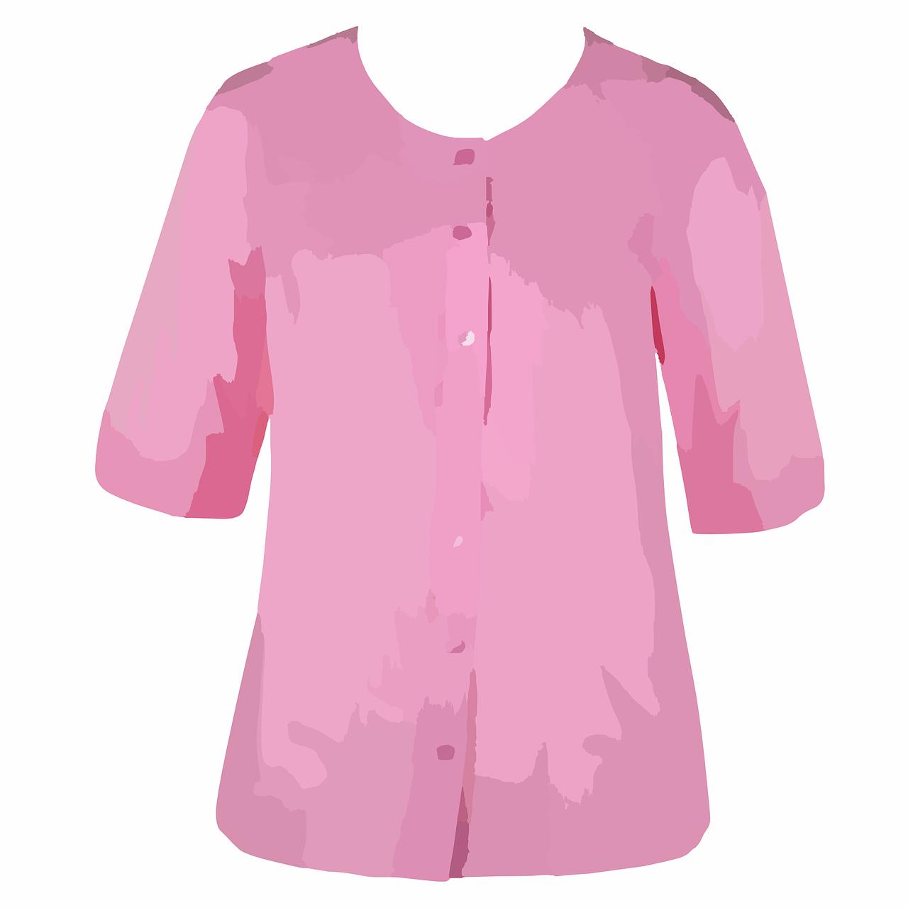 Blouse,top,pink,shirt,summer - free image from needpix.com