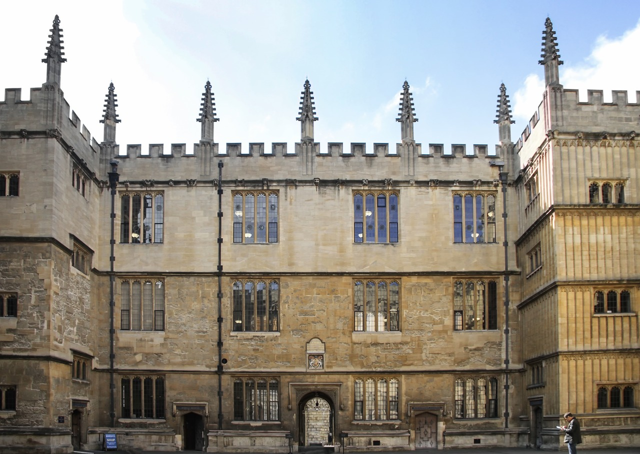bodleian library duty copy library university free photo