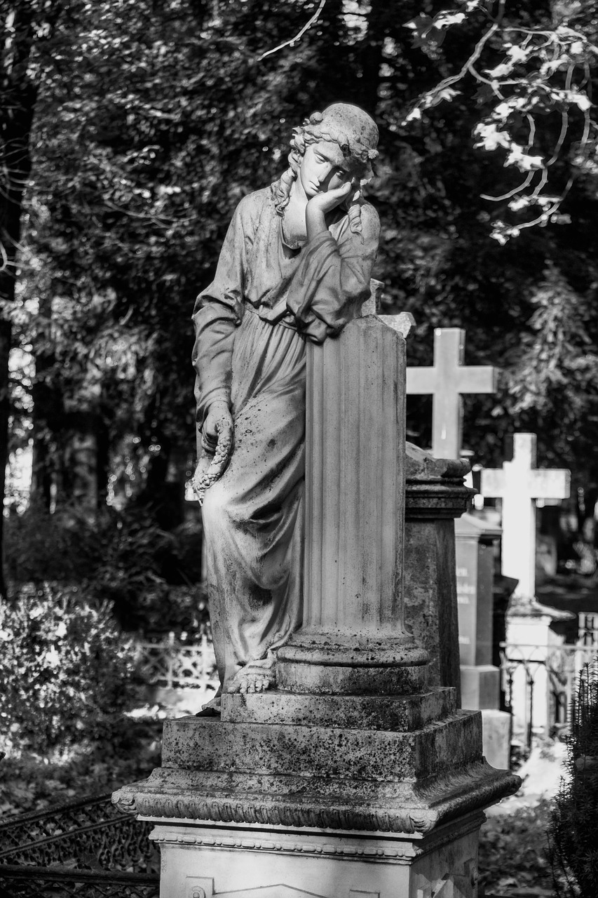 bonn  old cemetery  tombstone free photo