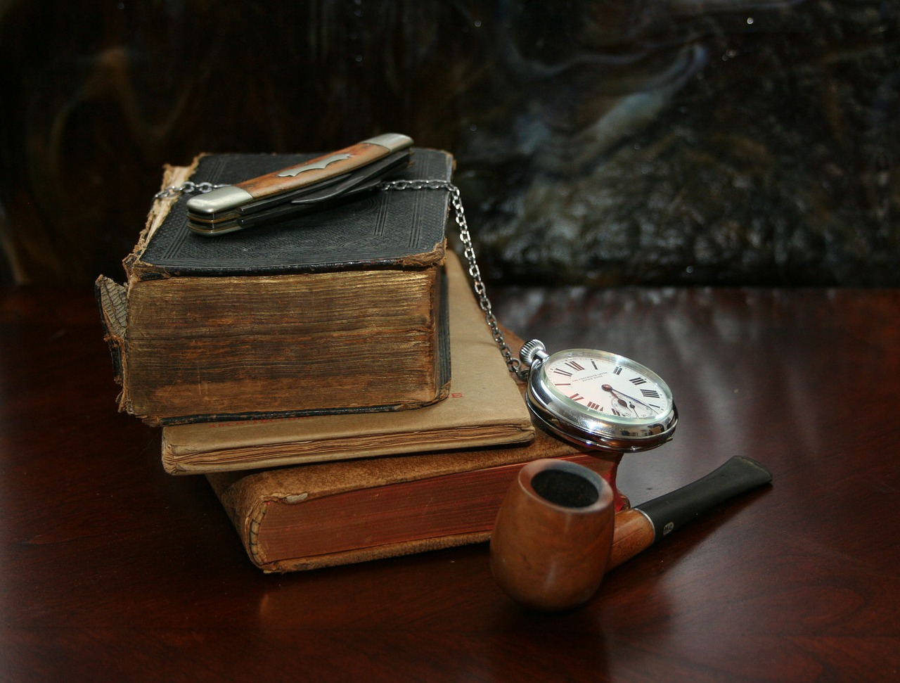 books watch knife free photo