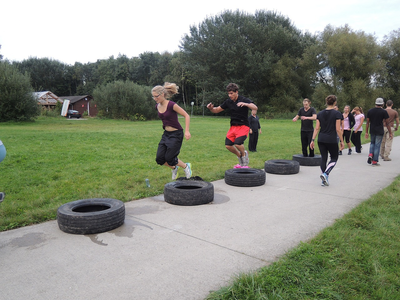 Image result for Outdoor Crossfit Gym
