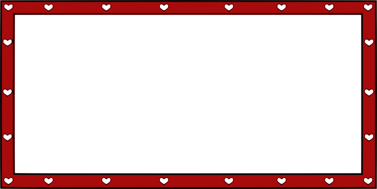 border,decorative,valentine,frames,hearts,christmas,birthday,free vector graphics,free pictures, free photos, free images, royalty free, free illustrations, public domain
