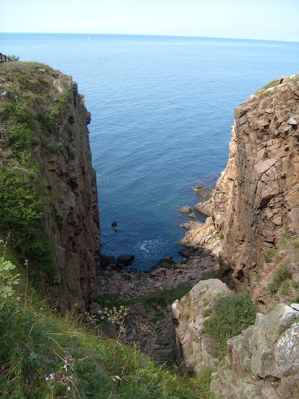 bornholm coastal path gorge free photo