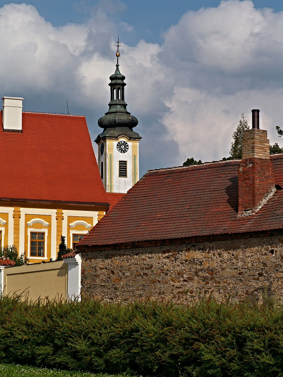 borovany south bohemia monastery free photo
