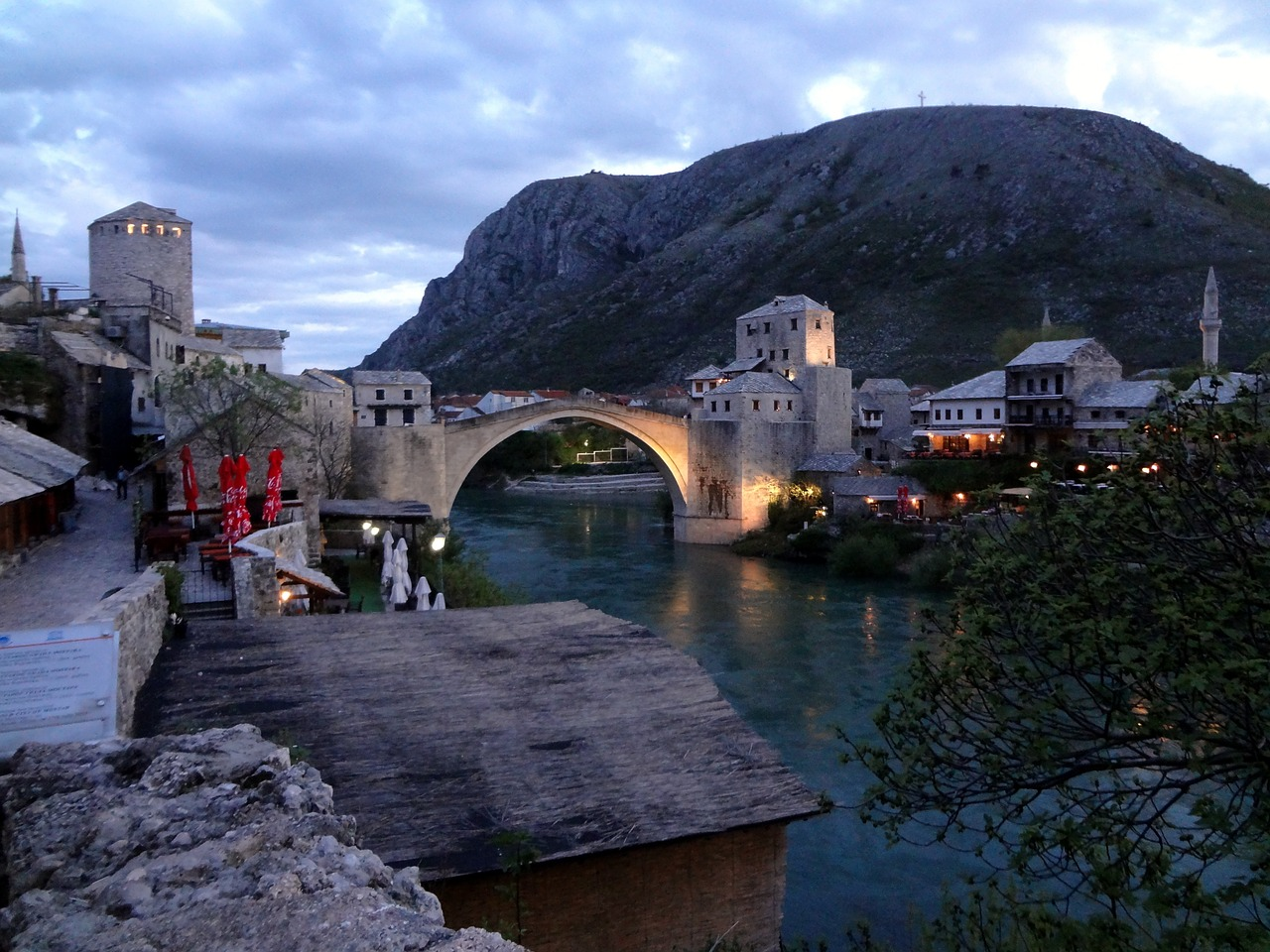 bosnia mostar herzegovina free photo