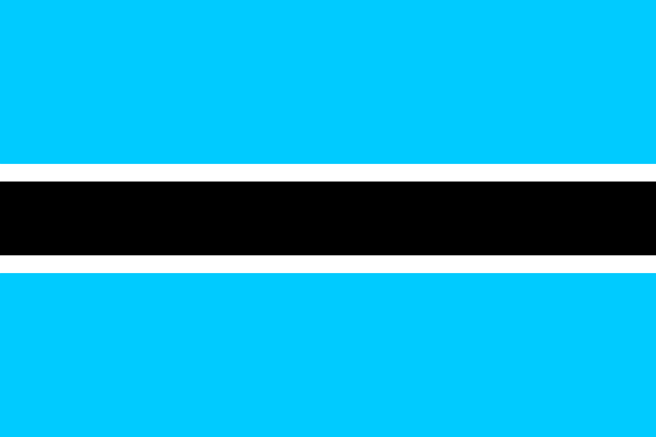 botswana flag national free photo