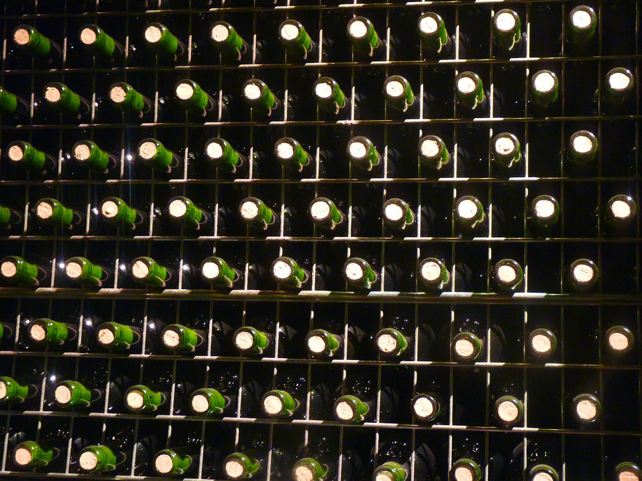 bottles green drink free photo