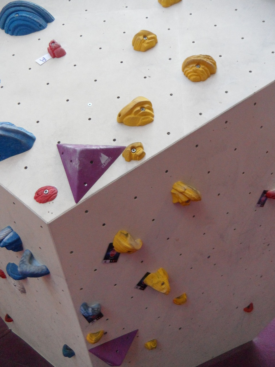 bouldering climbing hall climbing wall free photo