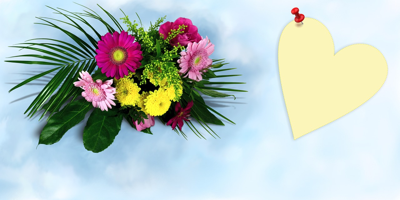 Bouquet Of Flowersbouquetflowersthank Youcolorful Free Photo