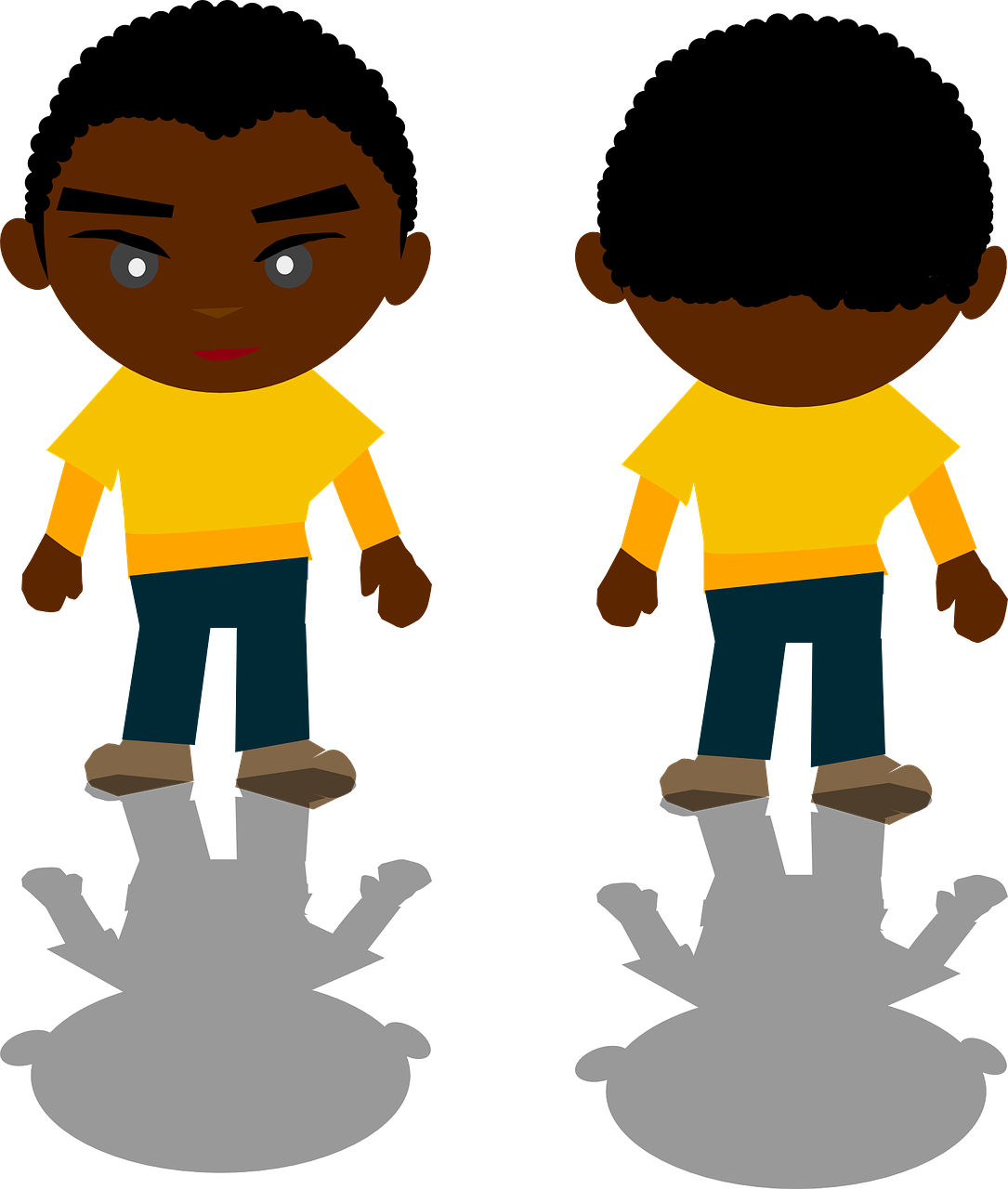 boy,kids,human,little,african,american,children,standing,sad,boys,childhood,shadow,free vector graphics,free pictures, free photos, free images, royalty free, free illustrations, public domain