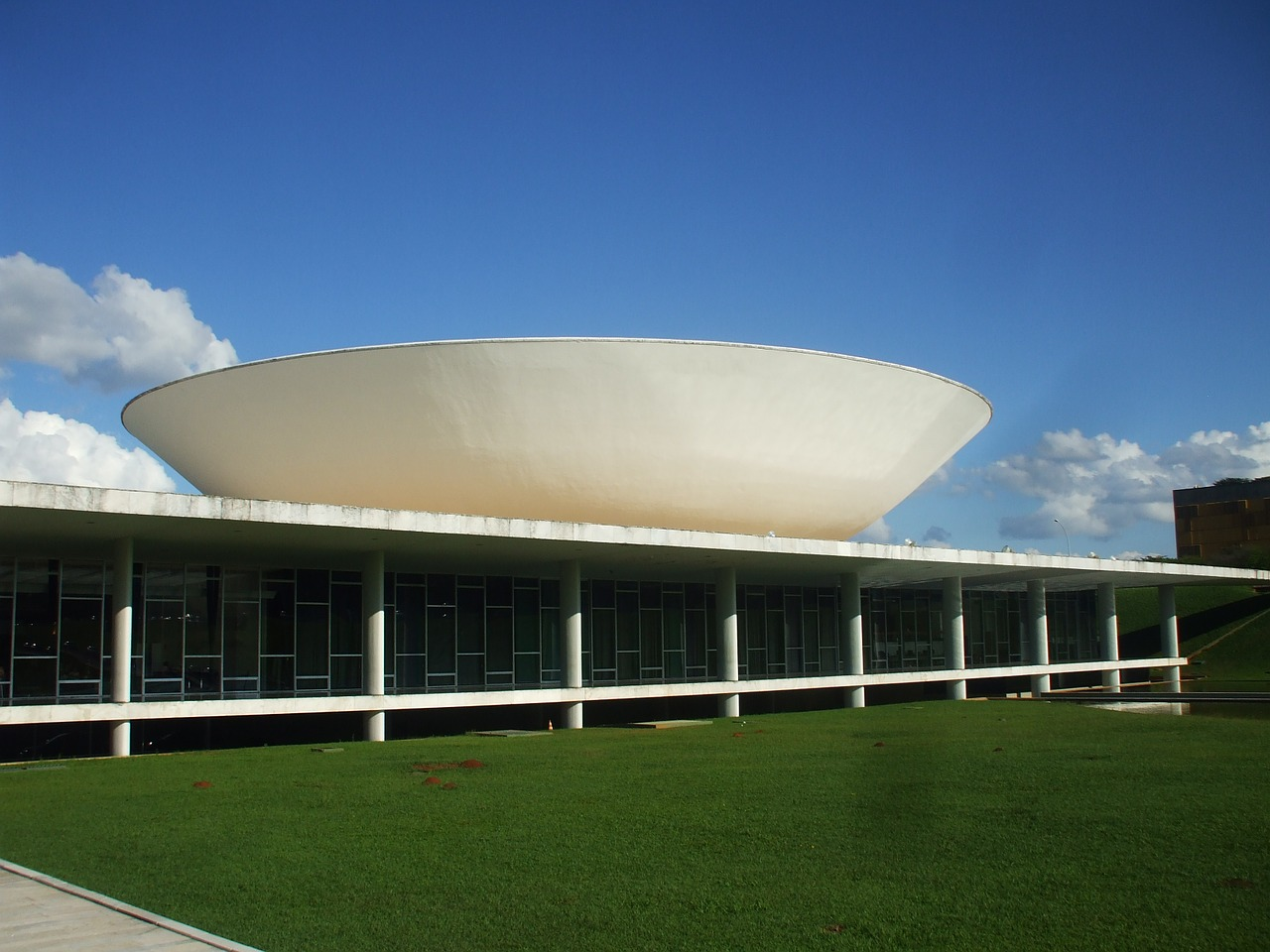brasilia congress brazil free photo