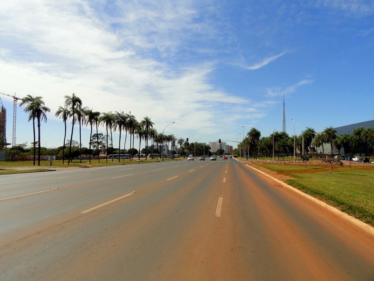 brasilia brazil road free photo