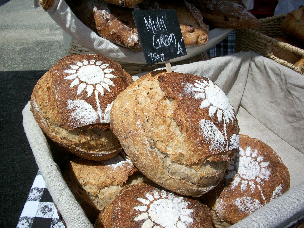 bread loaves artisan free photo