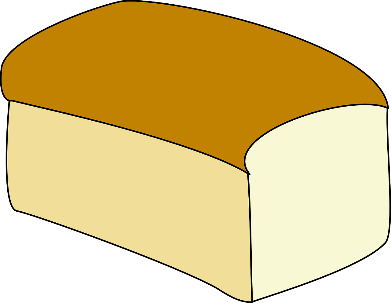 bread loaf white bread free photo