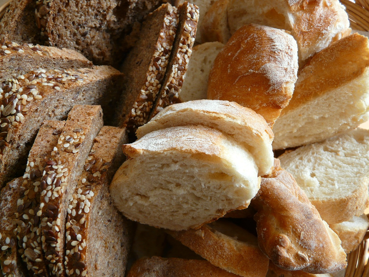 bread breakfast breadbasket free photo