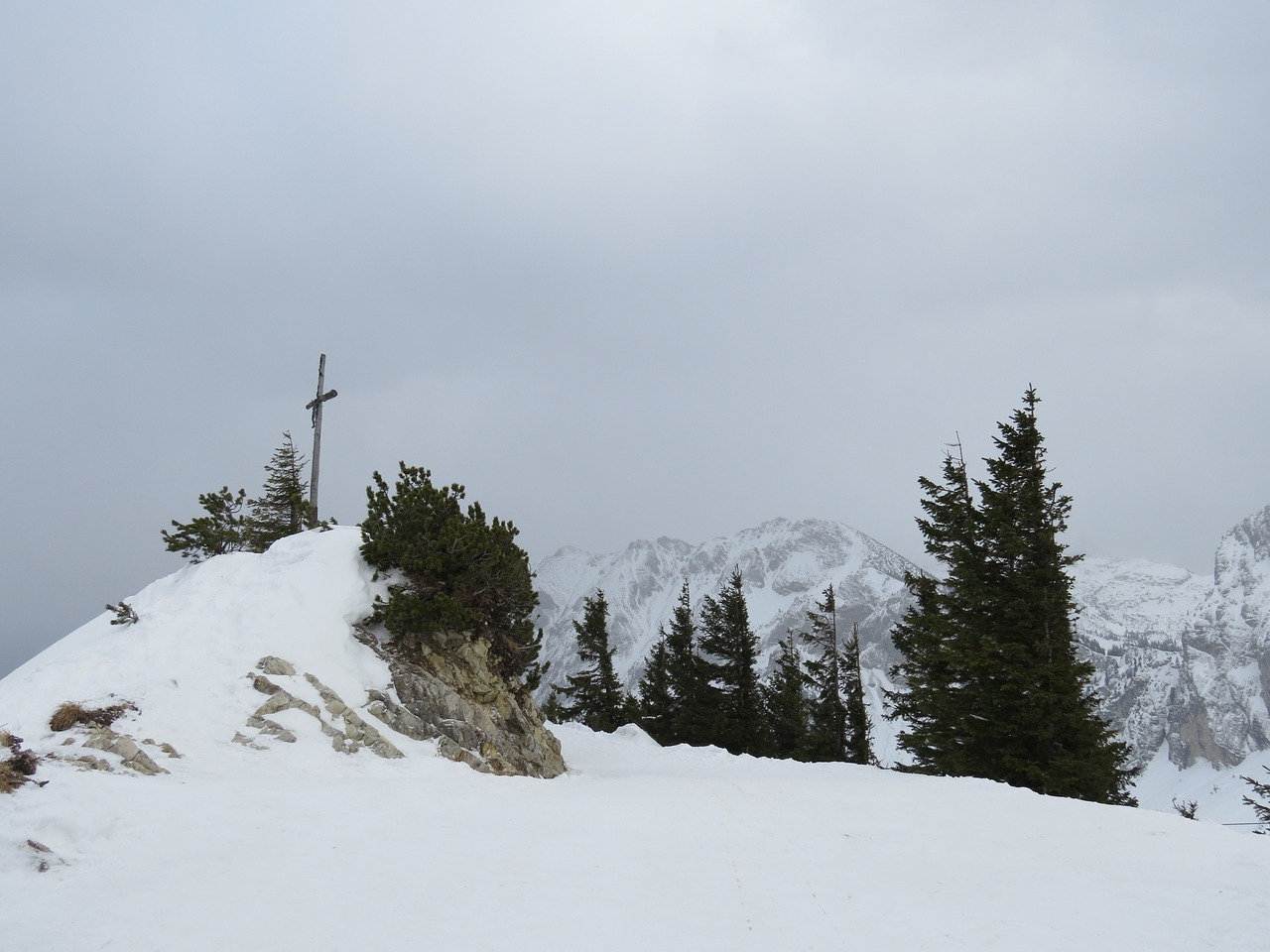 breitenberg summit summit cross free photo