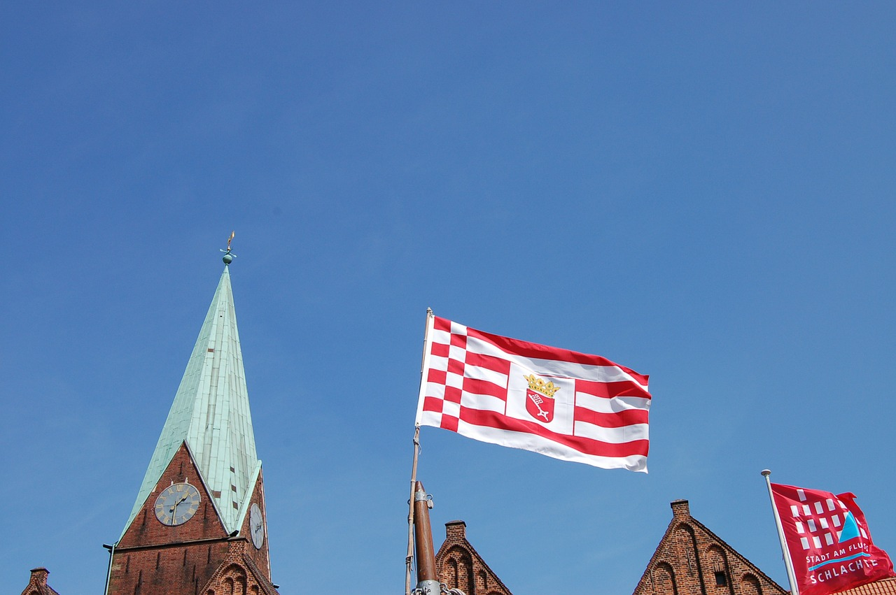 bremen flag roland free photo