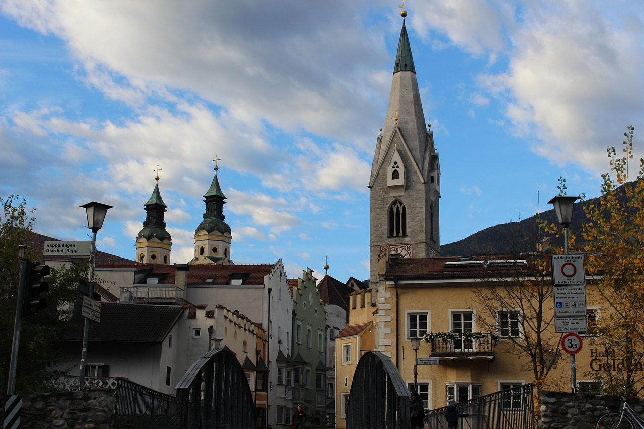 bressanone steeple south tyrol free photo