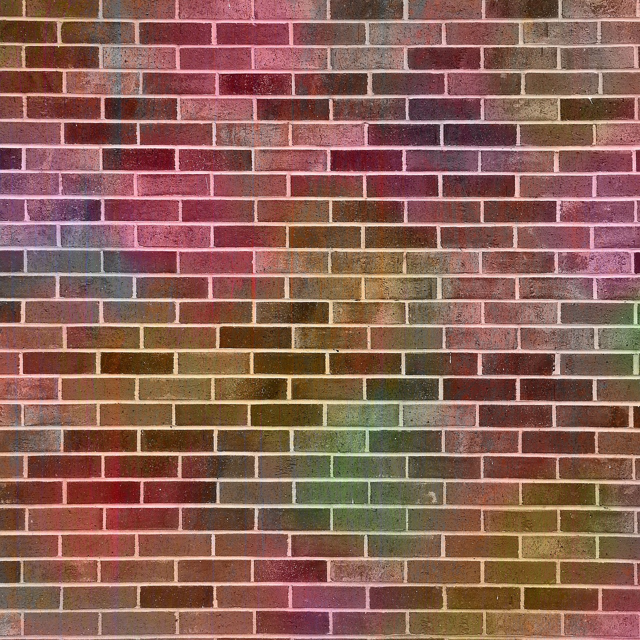 brick multi-color colorful free photo