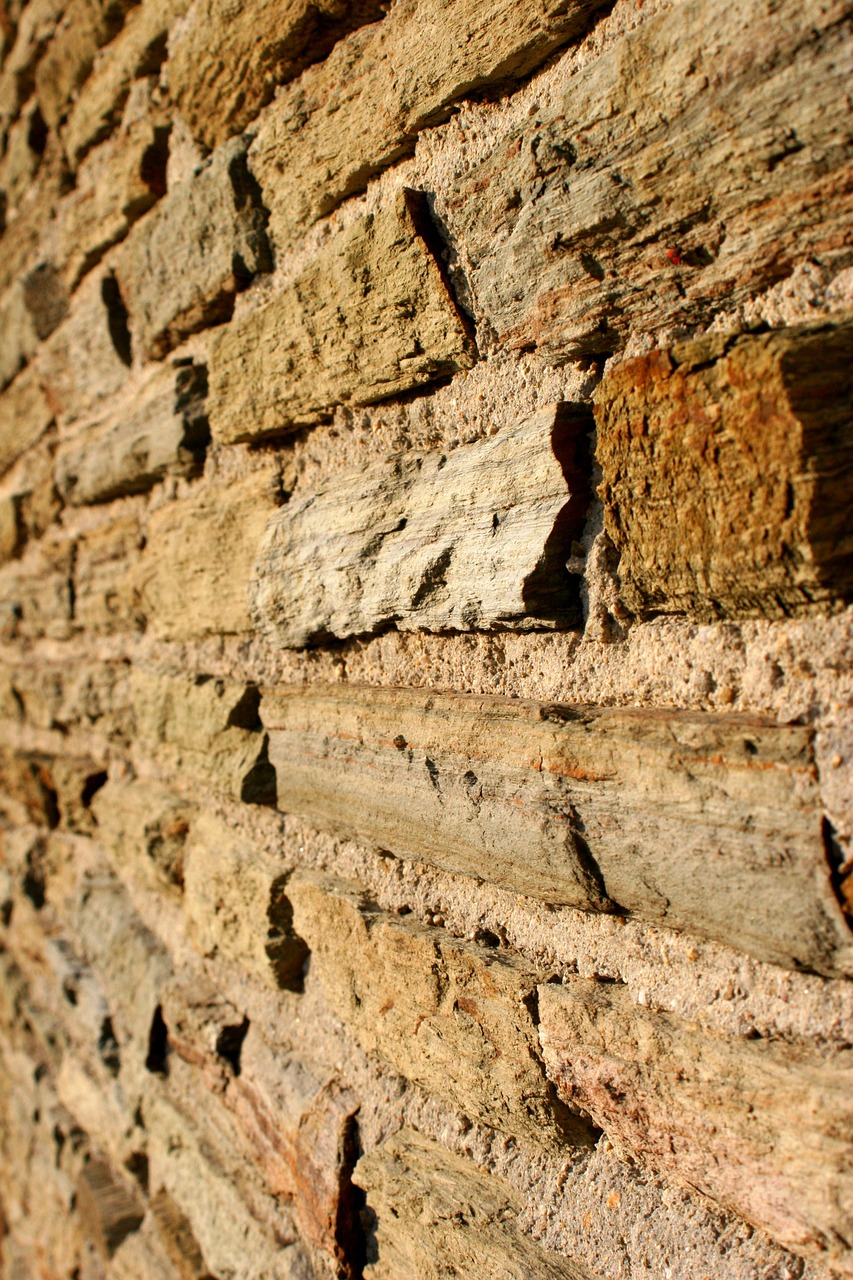 brick wall stone wall background free photo