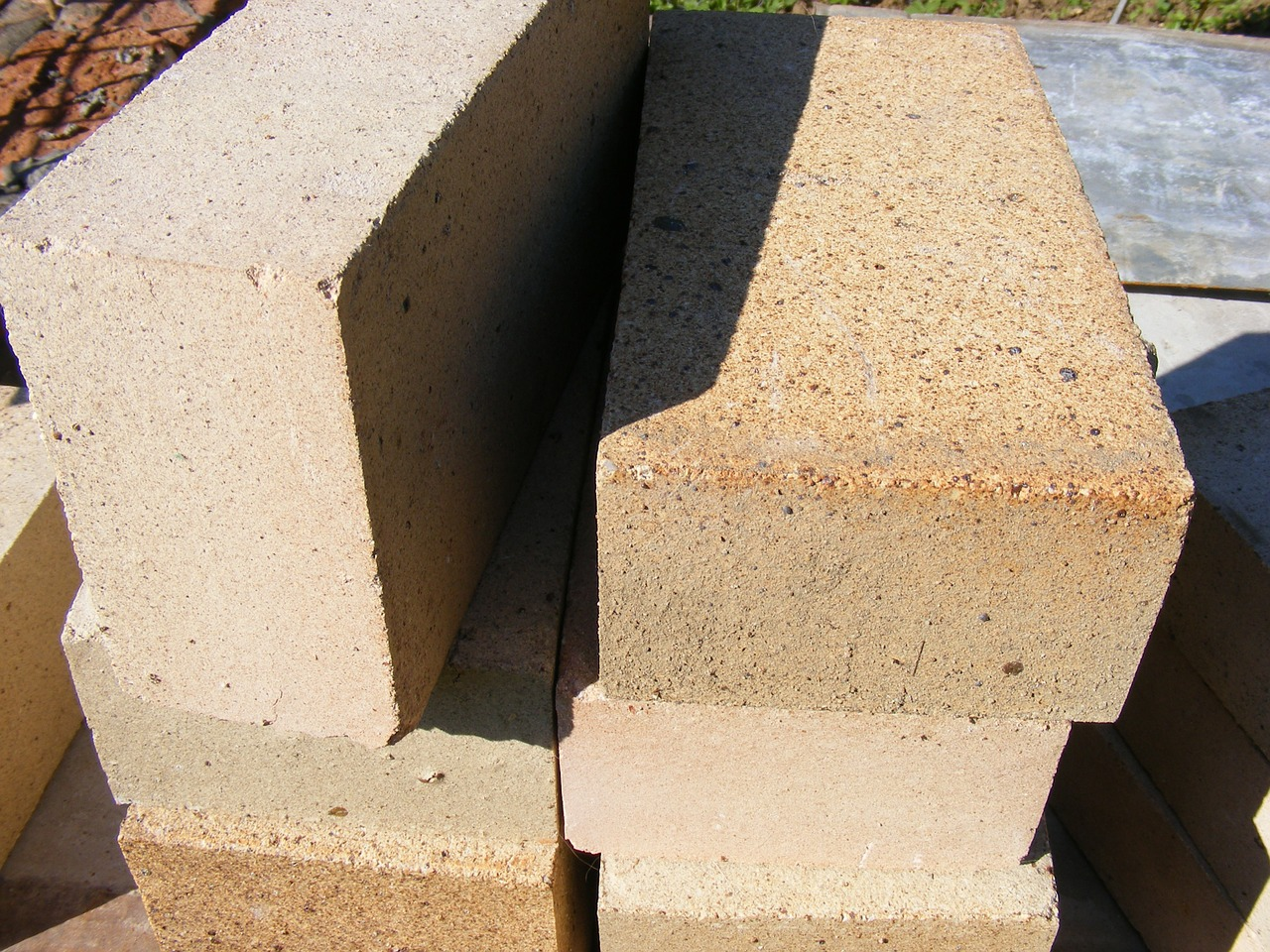 bricks chamotte fireclay free photo