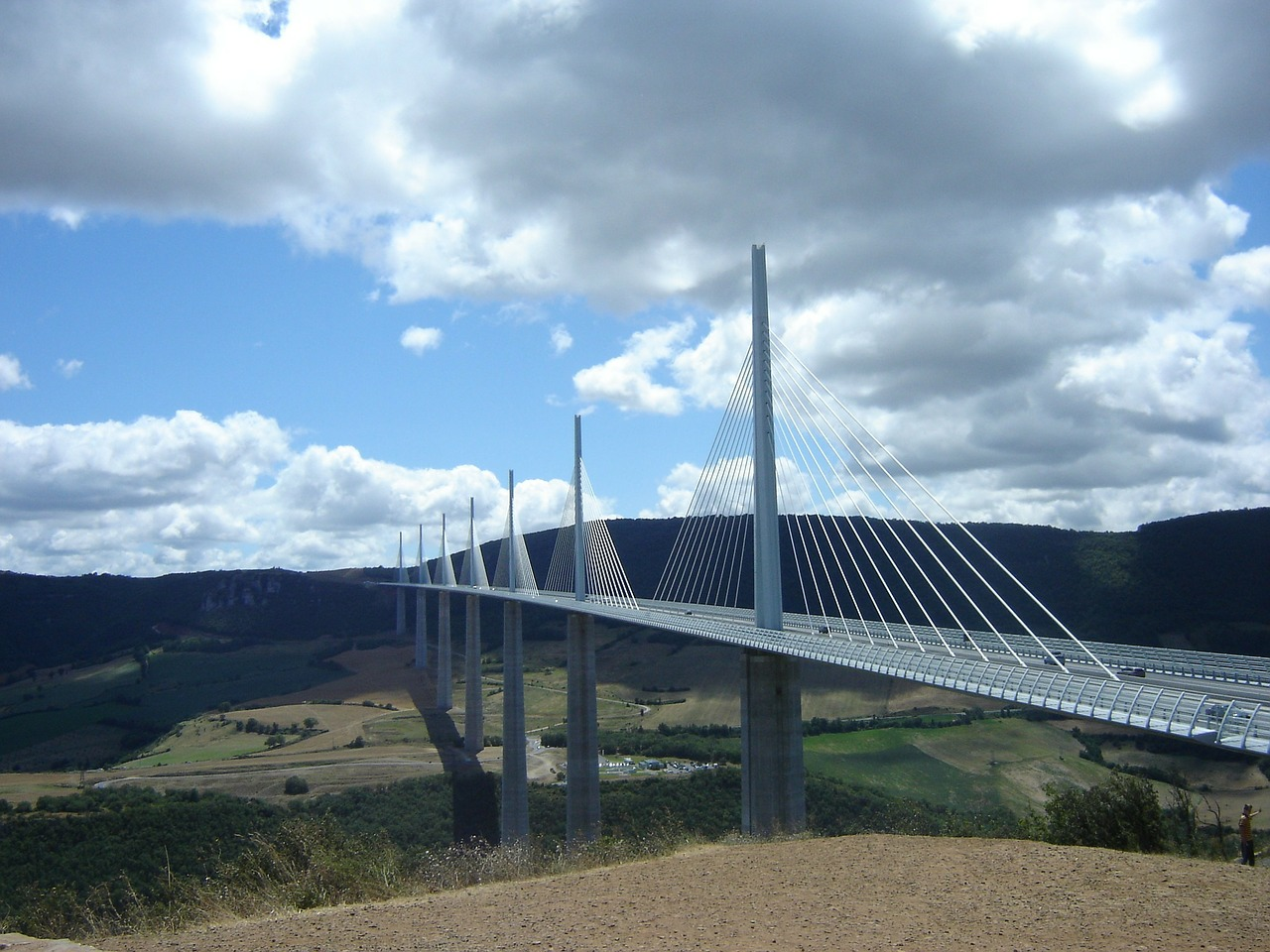 bridge millau pont millau free photo