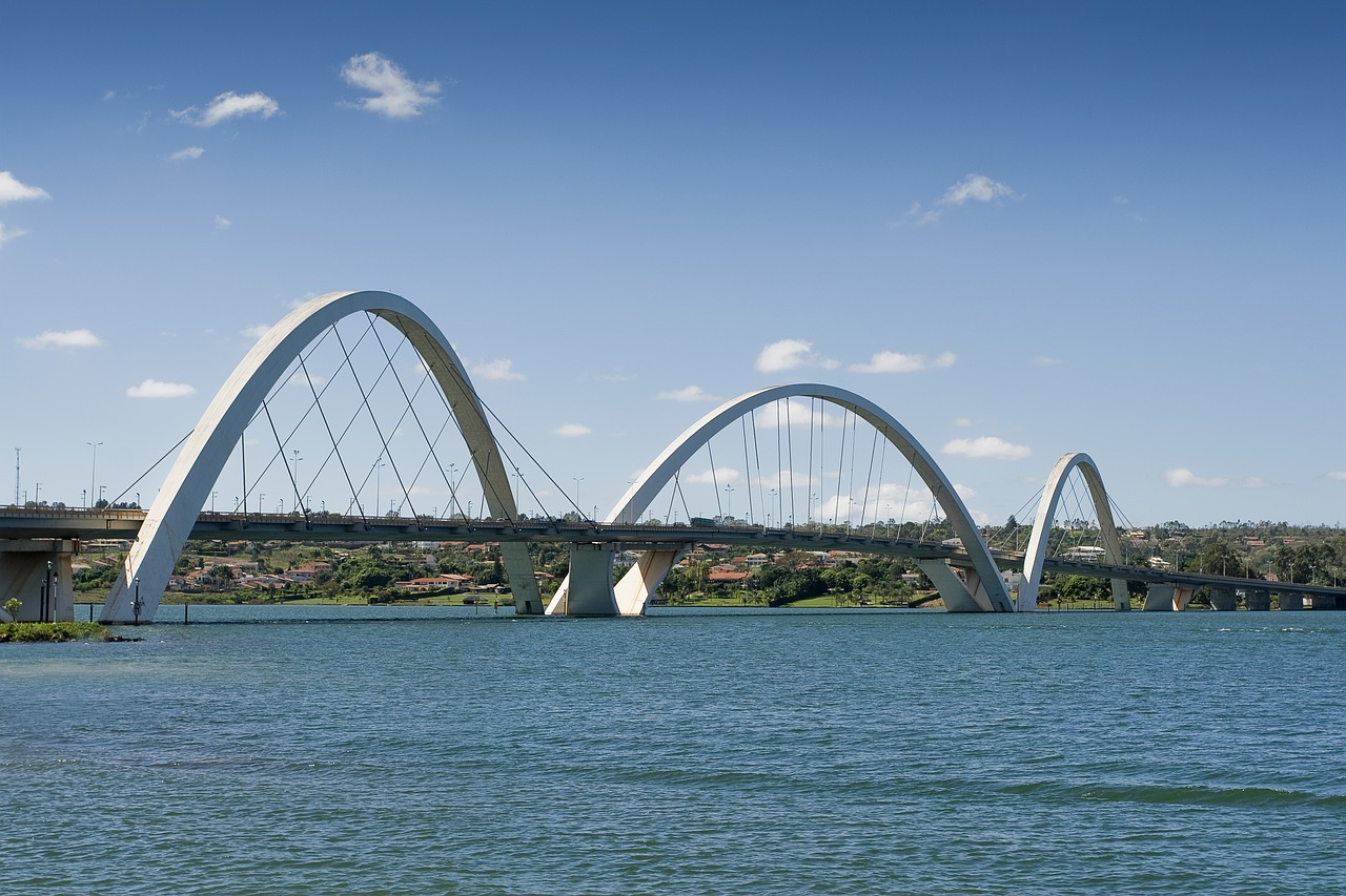 bridge  brasilia  brazil free photo